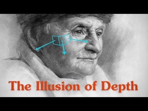The Illusion Of Depth - Contrast, Aerial Perspective And Form