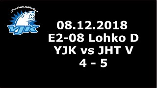 8.12.2018 (Lohko d) YJK - JHT (4-5)