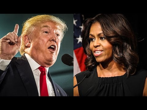 Trump Tries To End Michelle Obama's Girls' Education Program - The Ring Of Fire