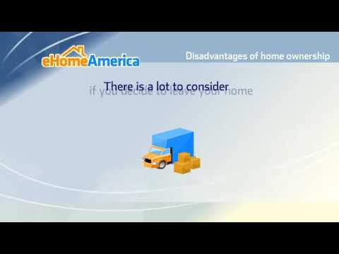Disadvantages of homeownership eHome America