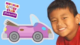 The Wheels on the Bus   The Wheels on the Car   Mother Goose Club Playhouse Kids Video