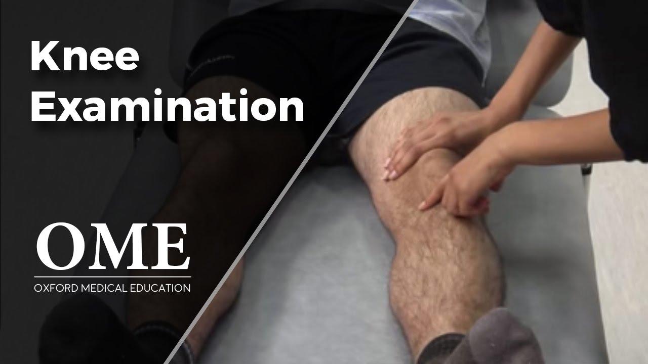Download Knee Examination - Orthopaedics