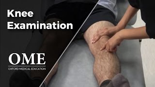 Knee Examination - Orthopaedics
