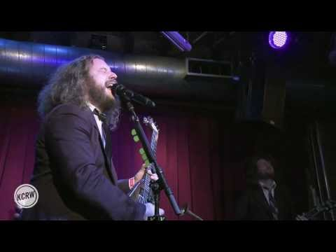 "Jim James performing ""State of the Art"" Live at KCRW's Apogee Sessions"