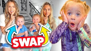 Swapping Babies With Savannah's Sister To See If Posie Notices...
