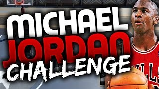 THE MICHAEL JORDAN CHALLENGE!! NBA 2K16 MYPARK CHALLENGE! HARDEST CHALLENGE YET?!