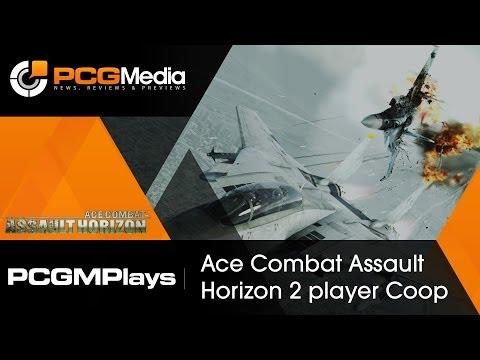 PCGMedia Plays: Ace Combat Assault Horizon Coop PC [2 players]