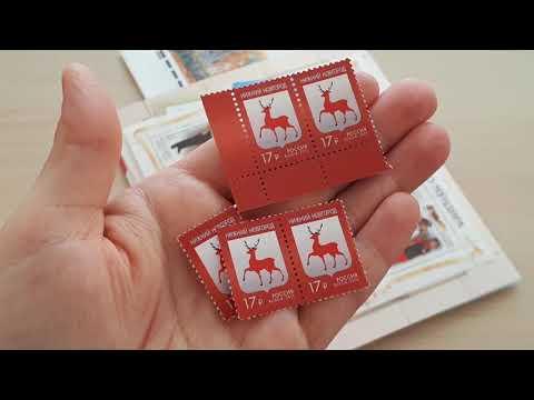 ПОКУПКИ!!!//Марки, открытки,конверты//РОЗЫГРЫШ открыток среди подписчиков!!!!