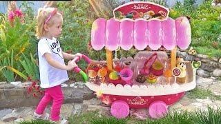 Играем в Магазин с Максом и Хлоей Candy shop Игры Для Детей Распаковка KIDS Games Toys unboxing