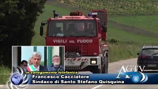 Santo Stefano Quisquina ancora sotto shock per la tragica morte del piccolo Angelo e della mamma Mar