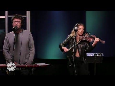 "Ra Ra Riot performing ""Absolutely""  on KCRW"