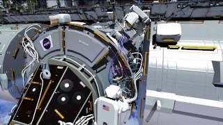 Expedition 42: US EVA #29 Animation