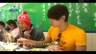eSUB start @1:22 sorry about that... Rain in Japan enjoy his eating...