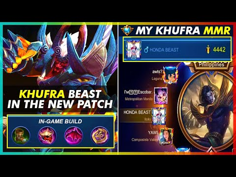 KHUFRA IN THE NEW PATCH | TANK ROTATION 101 | MLBB