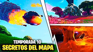 *Season X* All Secret Changes Of the New Map In Fortnite Fortnite Battle Royale