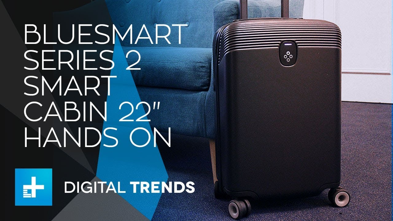 Bluesmart Series 2 Smart Cabin 22″ – Hands On Review