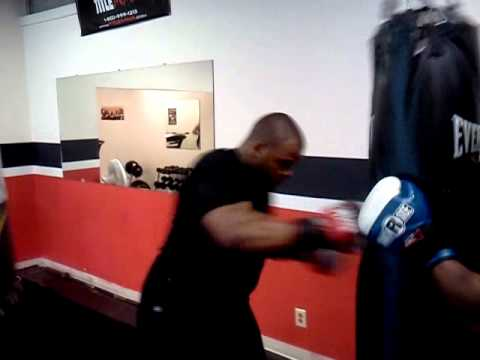 The Punch House Tyjuan Hagler Workout 1