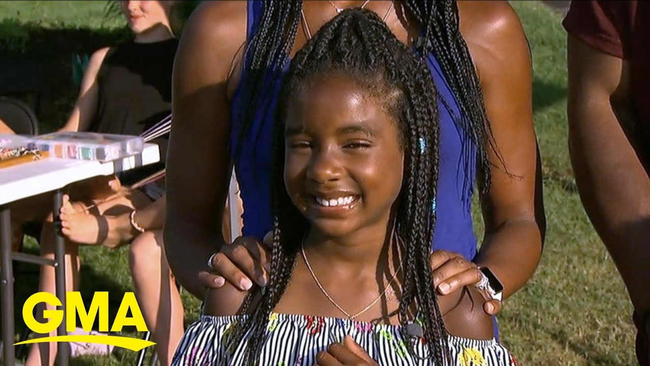 9-year-old makes bracelets to raise money for Minneapolis l GMA