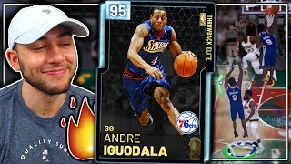 DIAMOND ANDRE IGUODALA GAMEPLAY! BEST DIAMOND IN THE GAME! NBA 2K19 MyTeam
