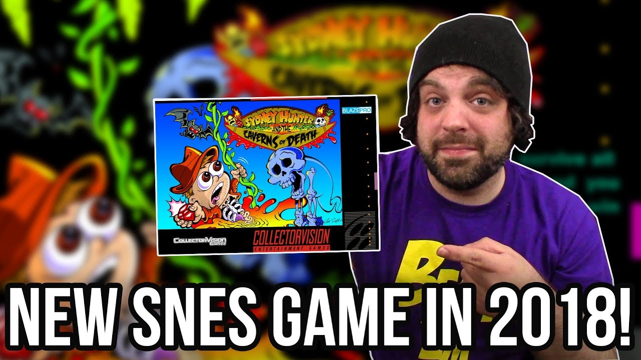 NEW SNES GAME FOR 2018! Sydney Hunter and The Caverns of Death! | RGT 85