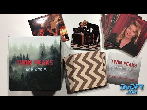 """Unboxing : """"Twin Peaks - From Z To A"""" - Édition Limitée/numérotée 20 Blu-ray + 1 4K UHD + Goodies"""