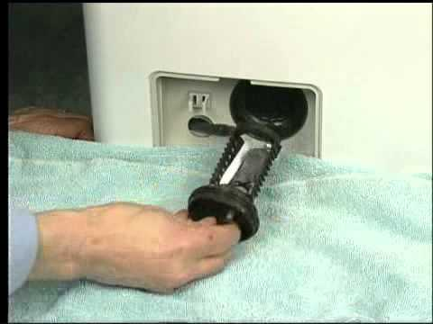 Front Load Washer Won T Drain Or Spin Video Washing Machine Tips From Sears Partsdirect You