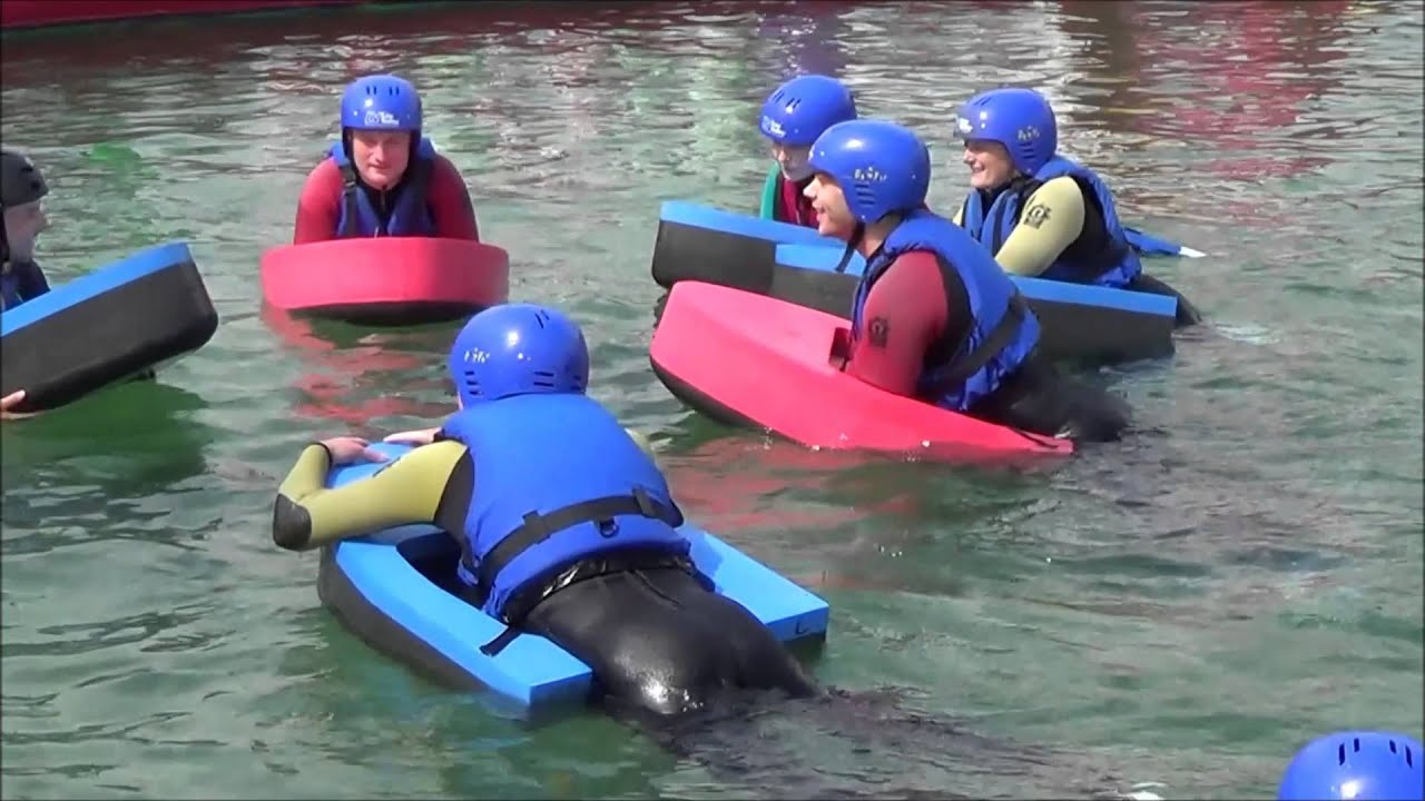 Hydrospeeding And Team Building Activities At Lee Valley White Water