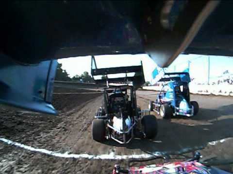 Port City Raceway jr sprint heat1  7-10-10,Tulsa OK.