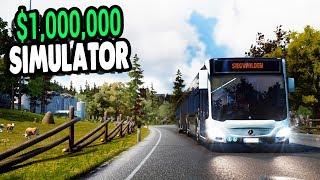 CRAZIEST MONEY MAKER $1,000,000 COMPANY - NEW UNLOCKED CITIES | Bus Simulator 18 Gameplay