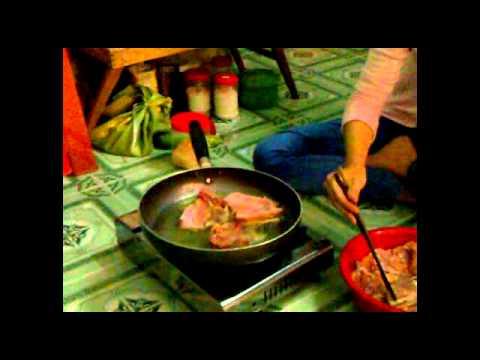 Cách ứơp thịt gà - với món Chà Bông Gà