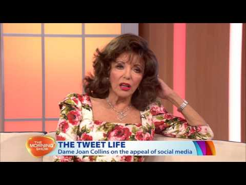 Joan Collins - Morning Show interview March 2016