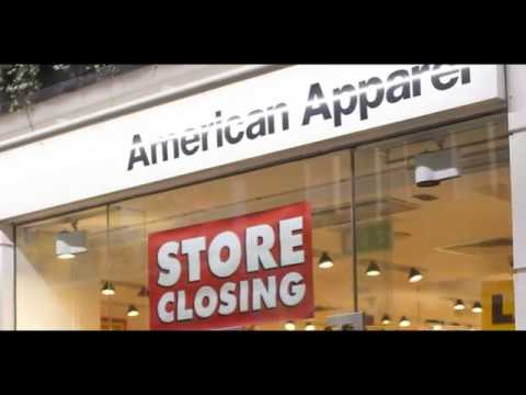 American Apparel to close all of its stores│american apparel news│american apparel wholesale