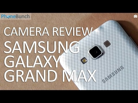 Samsung Galaxy Grand Max Camera Review