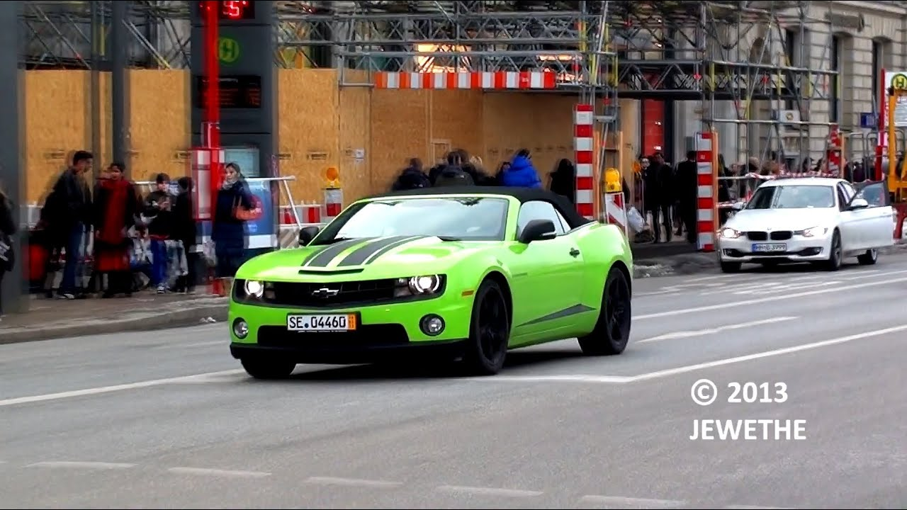 One-Day Carspotting in Hamburg! (2013 Vanquish, Camaro SS Convertible and more!) - Part 3 (Full HD)