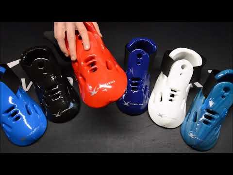 Whistlekick Original Martial Arts Sparring Boots - Sparring Gear Kicks For Karate, Taekwondo, Etc.
