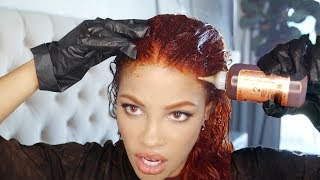 HOW I COLOR MY HAIR & EYEBROWS AT HOME