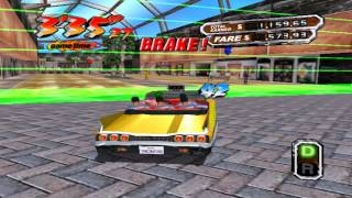[OLD GAME] Crazy Taxi 3 - Gameplay