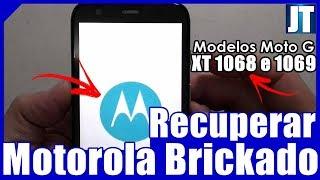 (100% Funcionando!!!) Como RECUPERAR O MOTO G2 XT 1068 ou 1069 BRICKADO!