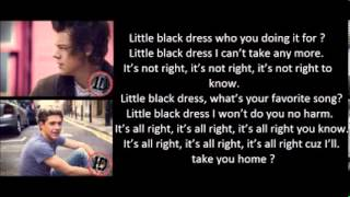 One Direction   Little Black Dress Lyrics