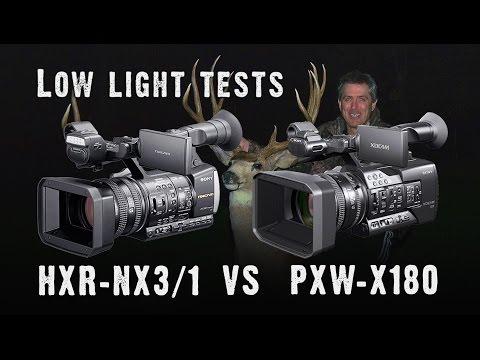 Sony HXR-NX3 vs PXW-X180