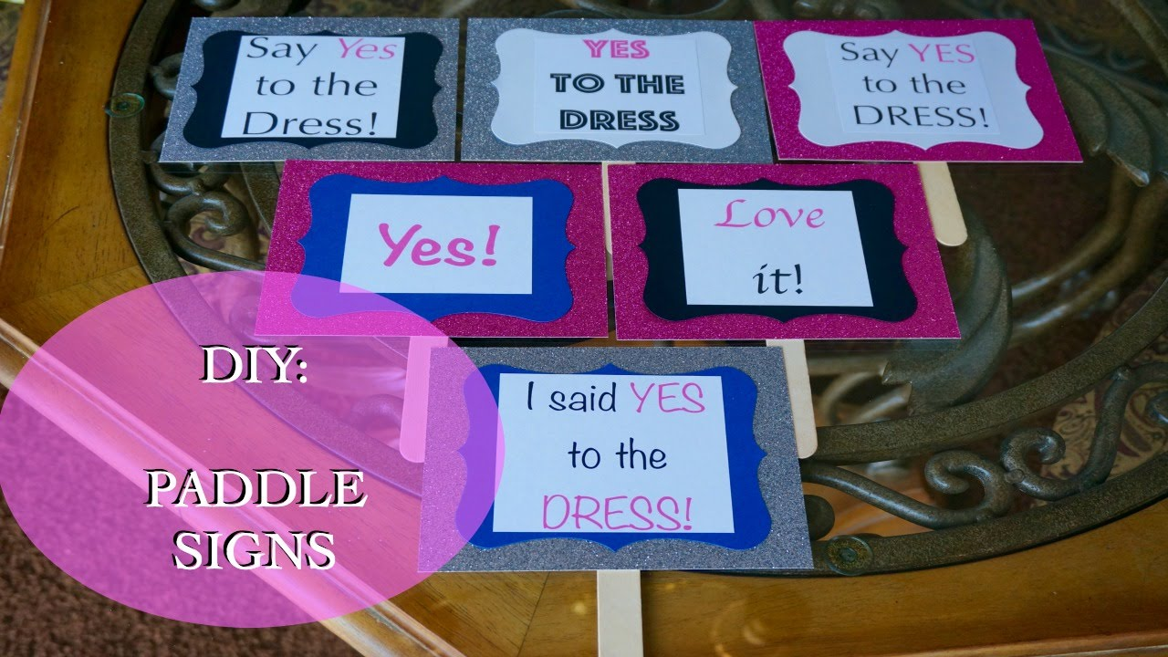 Say Yes To The Dress Signs