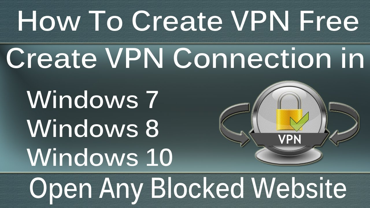 how to create vpn on win 10