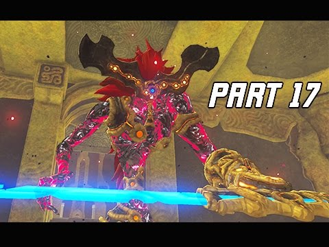 Legend Of Zelda Breath Of The Wild Walkthrough Part 17 Boss Waterblight Ganon Let S Play