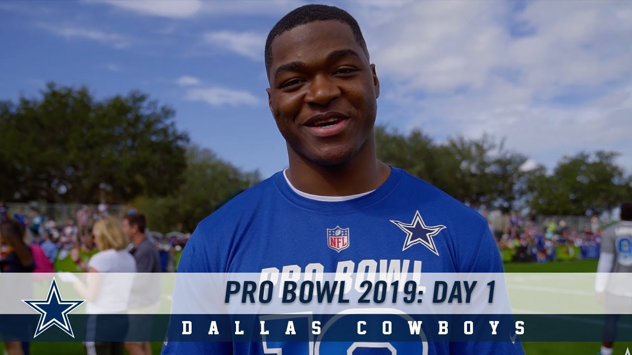 detailed look eae4a 58933 Join Amari Cooper, Leighton Vander Esch + more at Pro Bowl 2019, Day 1 |  Dallas Cowboys 2018-2019