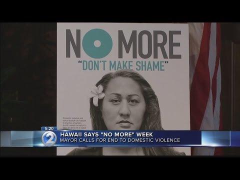 Mayor declares Hawaii Says NO MORE Week in Honolulu