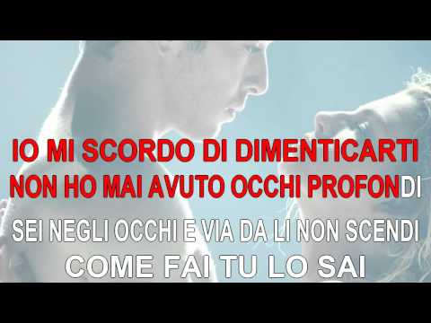 Occhi Profondi - Emma Marrone - Karaoke con testo