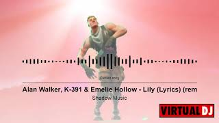 Alan Walker, K 391 & Emelie Hollow - remix (dj station)