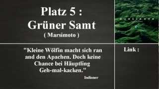 Meine Top 5. : Deutschrap Alben 2012 [German]