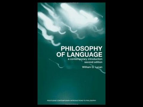 Brief Introduction to Philosophy of Language
