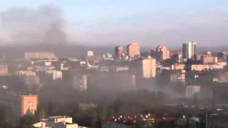 Украина война Донецк. Артиллерийский обстрел Луганск юго восток сегодня АТО,ДНР,ЛНР